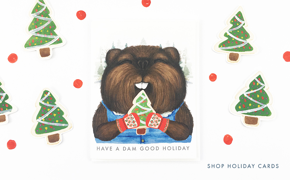 Shop Holiday Cards at Dear Hancock