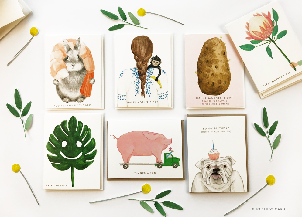 Shop New Cards at Dear Hancock