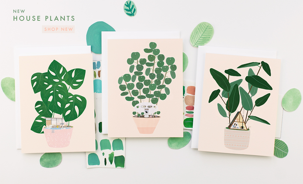 Shop New House Plant Cards at Dear Hancock