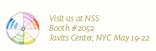 Visit us at NSS Booth #2052, Javits Center, NYC, May 19-22