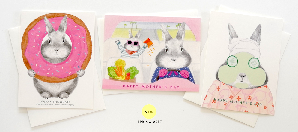 Spring 2017 Greeting Cards