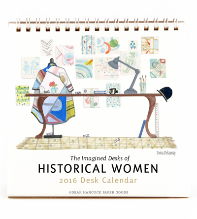 dear hancock paper goods 2016 desk calendar