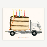 Big Happy Birthday Greeting Card