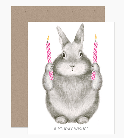 Birthday Wishes Bunny