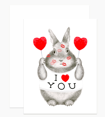 I Heart You Bunny