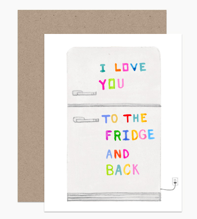 Love You To The Fridge