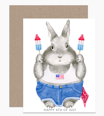 4th of July Bunny