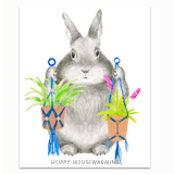 Hoppy Housewarming Greeting Card