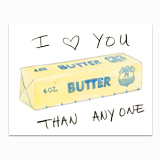 Butter Than Greeting Card
