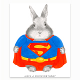 Super Birthday Greeting Card