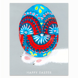 Hand Painted Egg Greeting Card