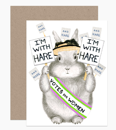 I'm with Hare