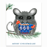 Merry Christmouse Greeting Card