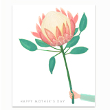 Protea for Mom Greeting Card