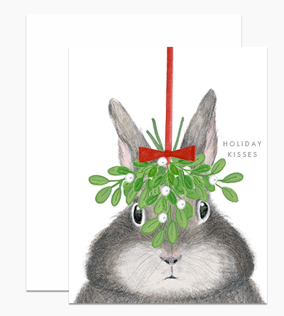 Bunny under Mistletoe