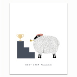 Best Step Paaaaa Greeting Card