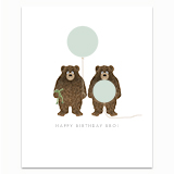 Brother Bears Greeting Card
