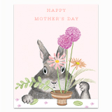 Happy Mother's Day Flower Arrangement Greeting Card