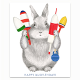 Happy Buoy-thday Greeting Card