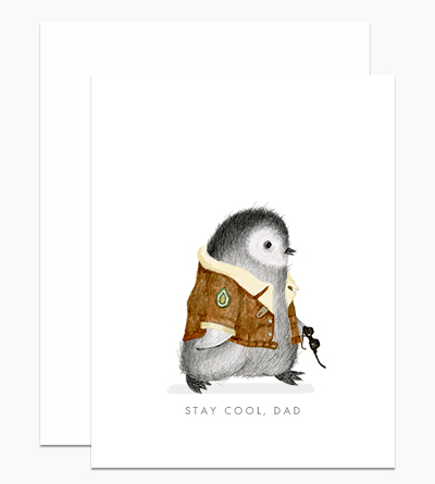 Cool Dad Penguin