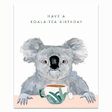 Support The Koalas Greeting Card