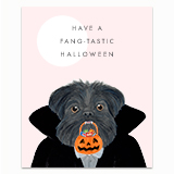 Fang-tastic Halloween Greeting Card