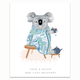 Cozy Koala Greeting Card