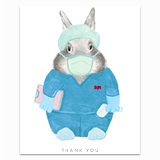 Healthcare Worker - Nurse Greeting Card