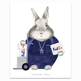 Essential Worker - FedEx Greeting Card