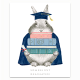 Somebunny Graduated Greeting Card