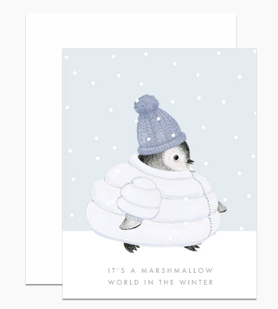 Marshmallow World Penguin