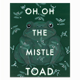 Mistletoad Greeting Card