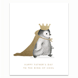 The King of Cool Greeting Card