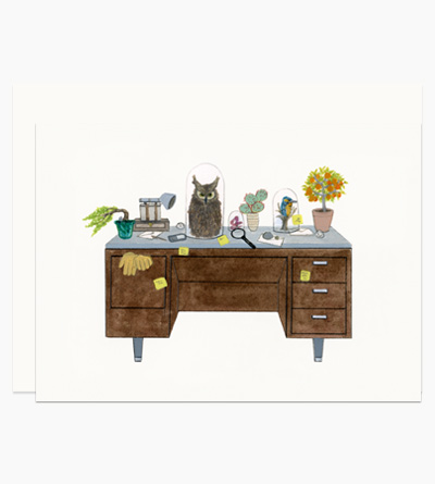 Naturalist Theme Desk