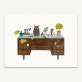Naturalist Theme Desk Stationery