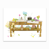 Springtime Desk Stationery