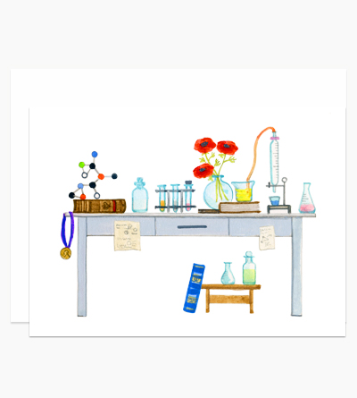 Scientist's Desk