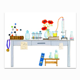 Scientist's Desk Stationery